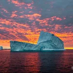 Iceberg and Sunrise