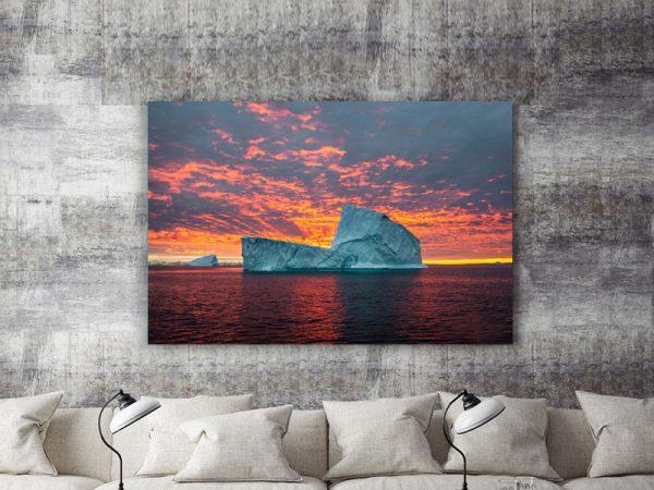 Sunset-Iceberg-Daniela Tommasi Photography-1