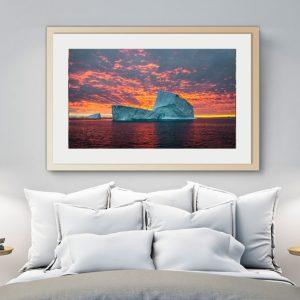 Iceberg and Sunrise