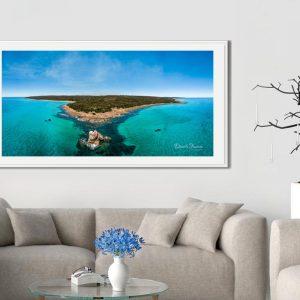 Gannet Rock – Panoramic